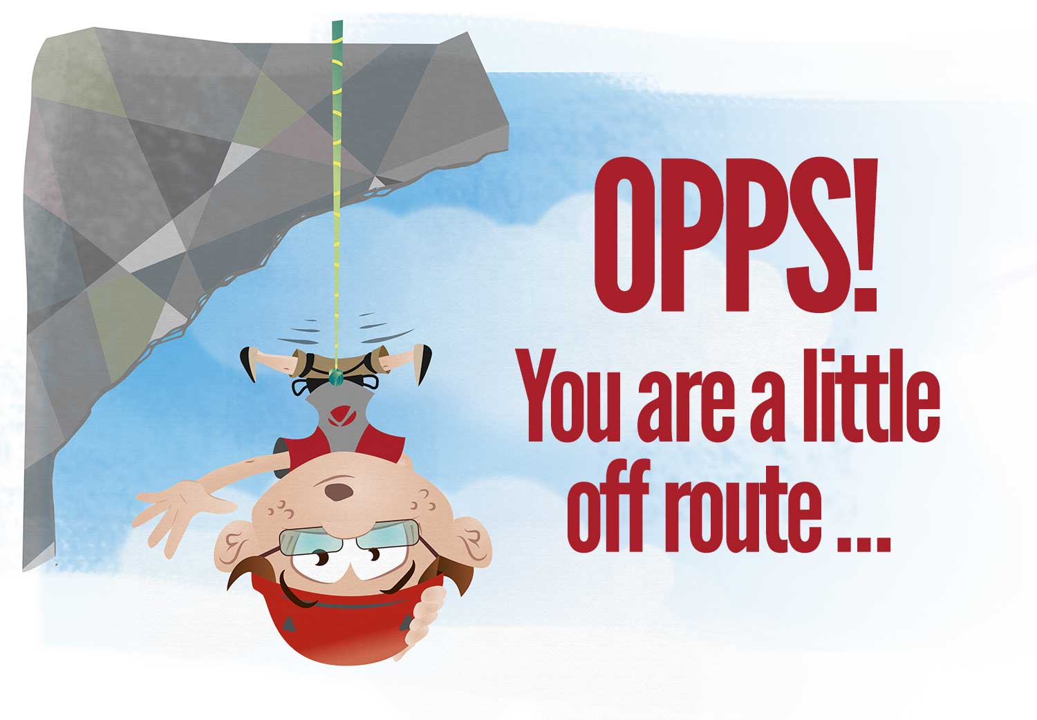 Opps - you are a little off route - 404!