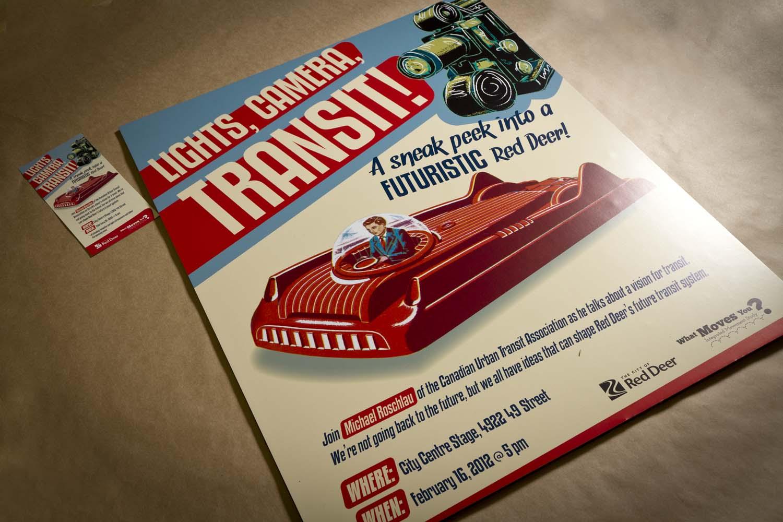 Transit Public Forum Posters
