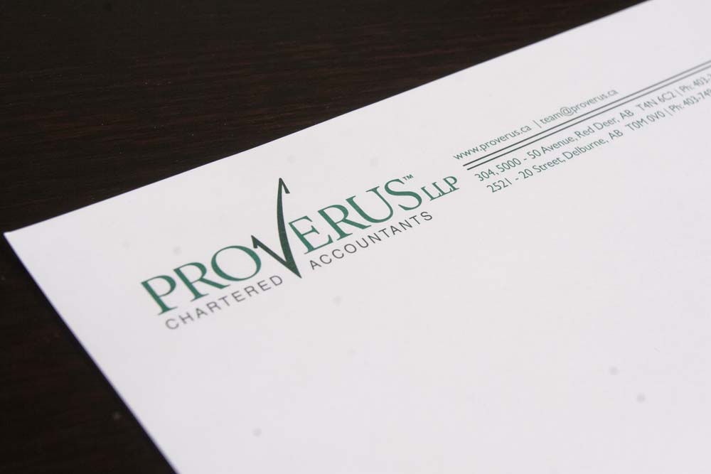 Proverus Chartered Professional Accountants Identity