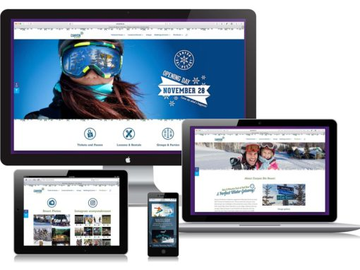 Canyon Ski Resort Website