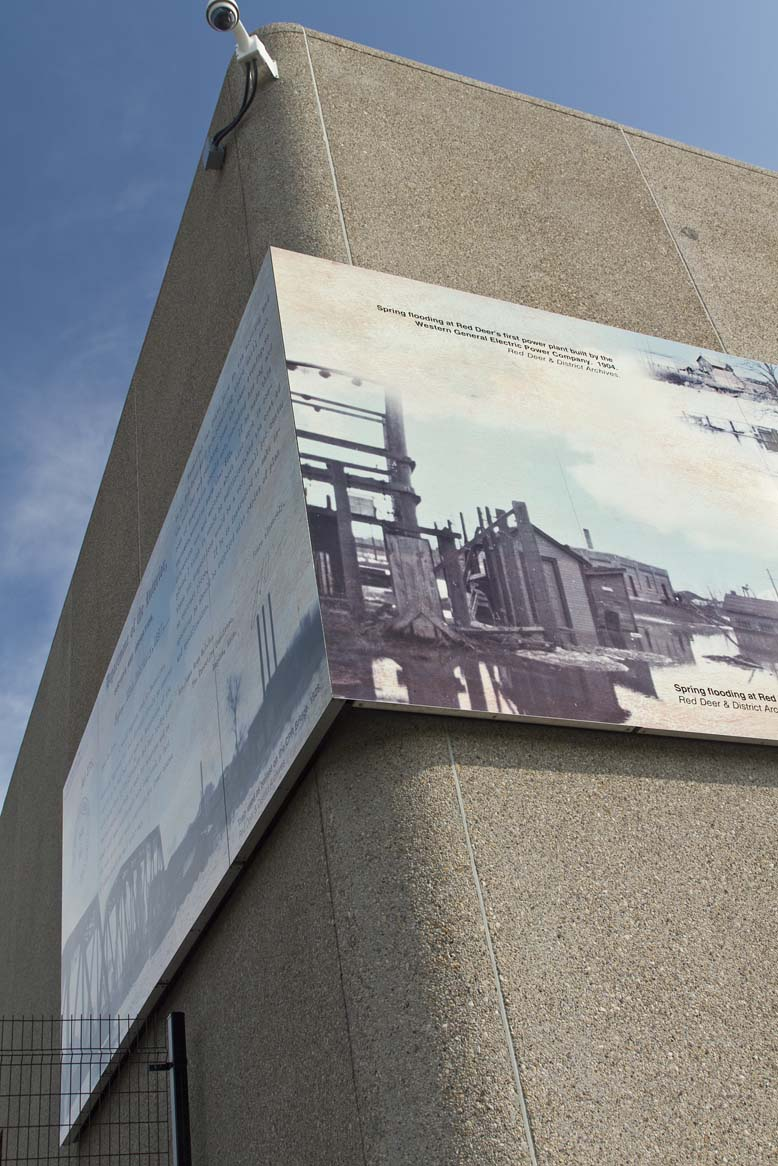 Water Treatment Intake Mural