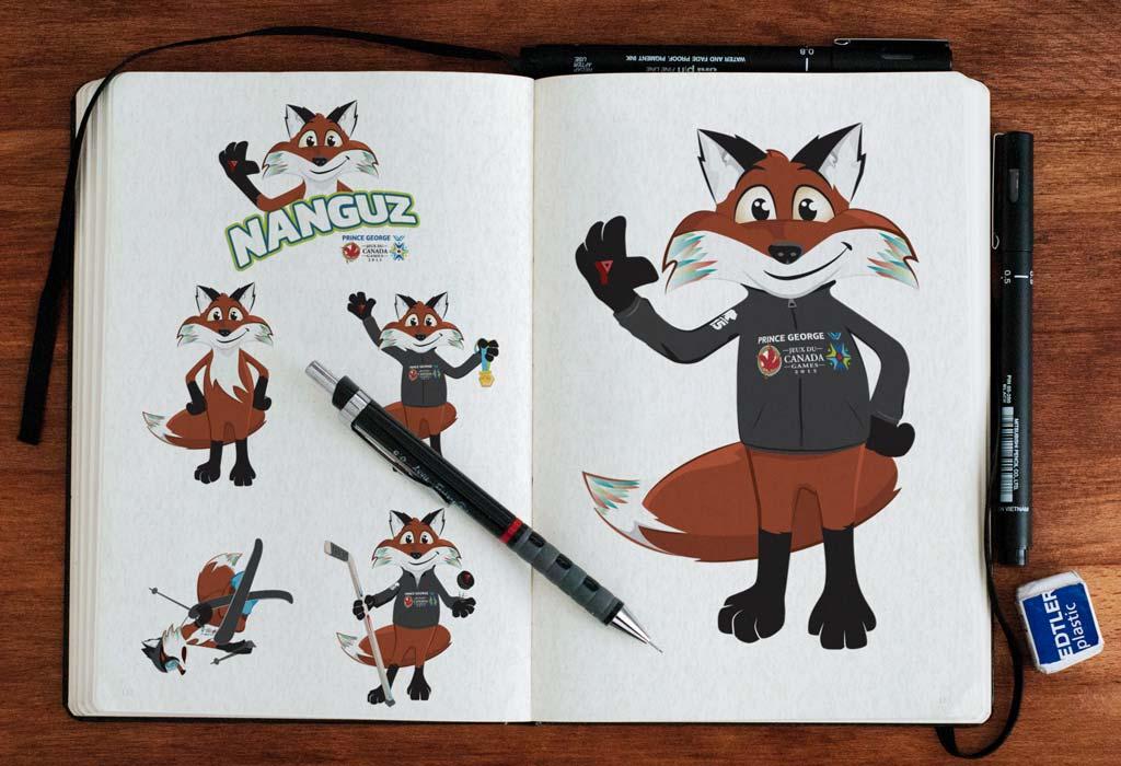 2015 Canada Winter Games Mascot