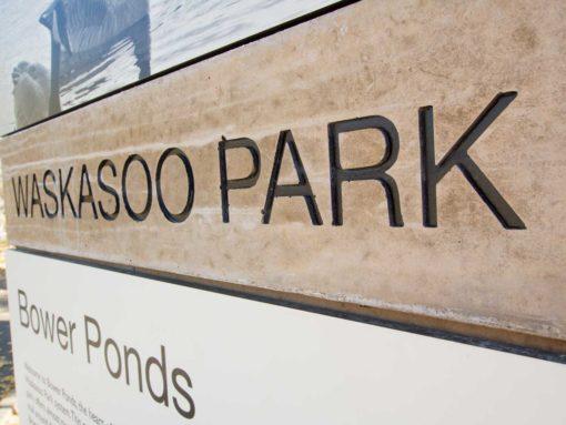 Waskasoo Parks Signage