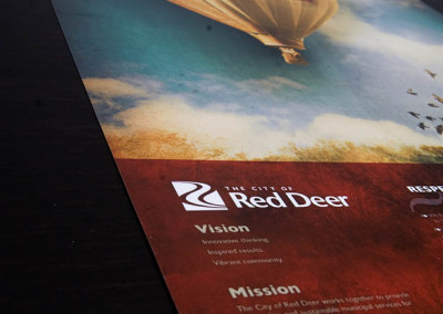 The City Of Red Deer RISE Values Poster