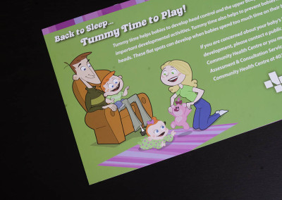 Alberta Health Services - Tummy Time Brochures