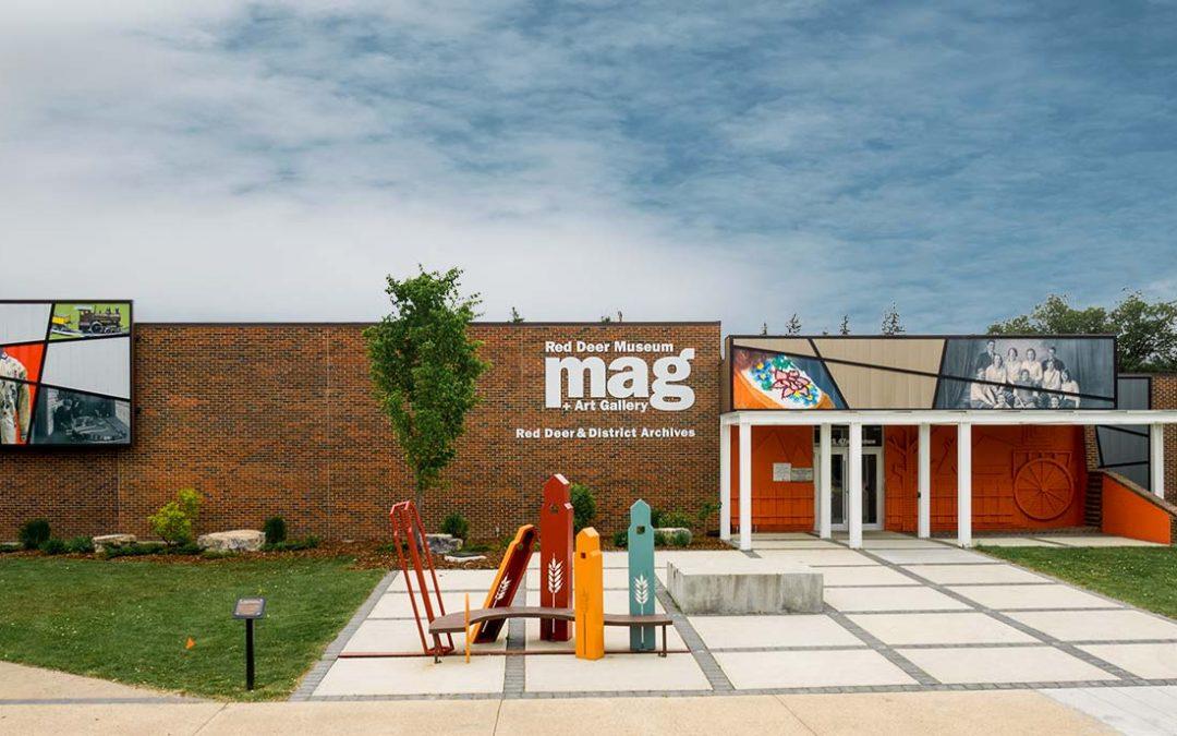 Red Deer Museum Façade Update