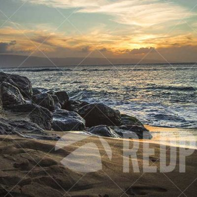 Sunset, Maui, USA