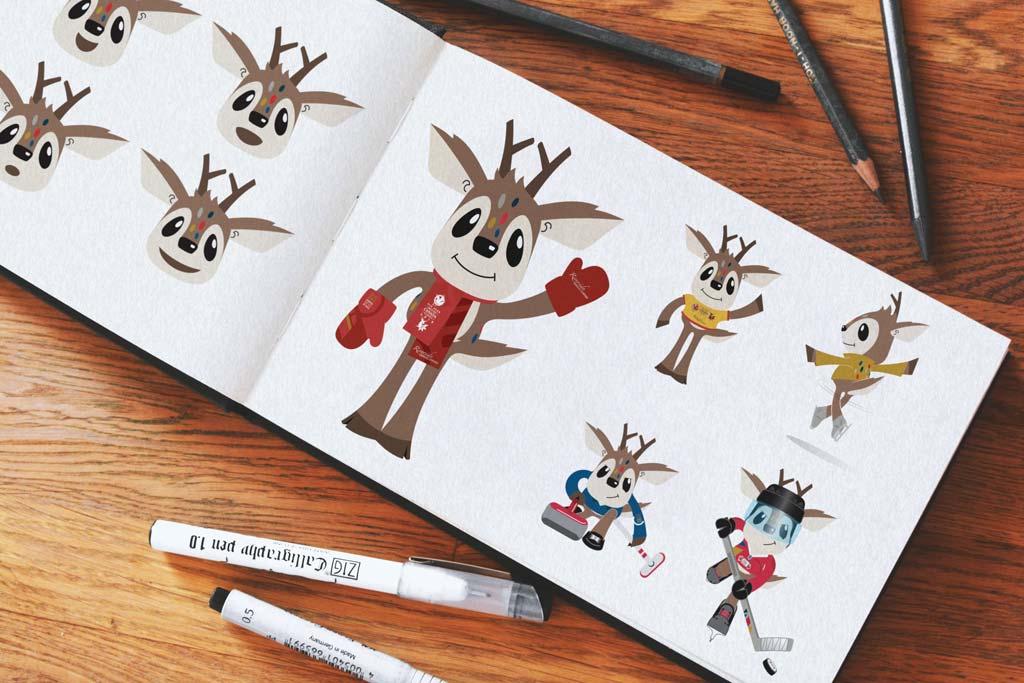 2019 Canada Winter Games Mascot