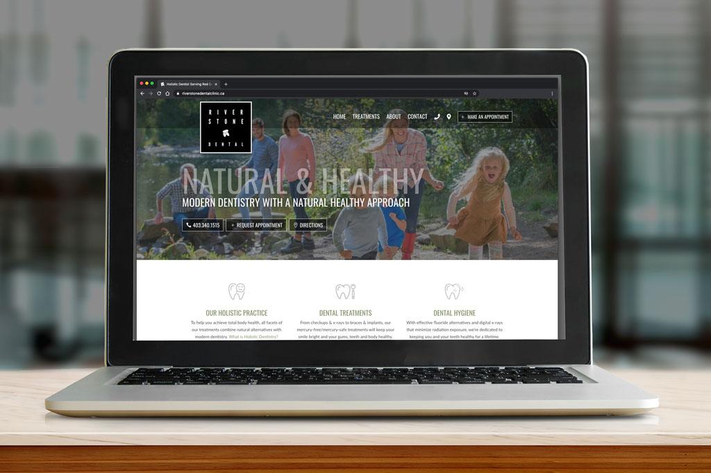 Riverstone Dental Website - Make Appointment