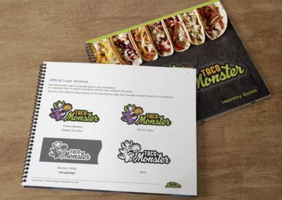 Taco Monster Logo Guide